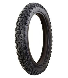 """MOTORCYCLE 4.10 - 18"""" REAR TYRE MOTORBIKE 410-18 TUBE TYPE E-MARKED ROAD LEGAL"""