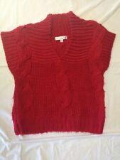 Lisa Rose - maglione senza maniche - colore rosso - Taglia 8 anni - 126 cm - Usa