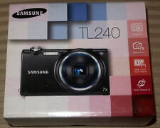 Samsung Touchscreen DualView TL240 14.0 MP 7X zoom Digital Camera (Gray)