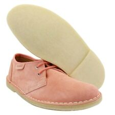 Clarks Original Womens ** DESERT JINK ** DUSTY PINK SUEDE **  UK 6.5 / 6 C