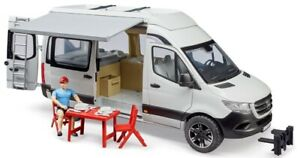 BRU2672 - Vehicle Camper - MERCEDES Sprinter With Camper And Accessories