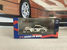 MINICHAMPS - PORSCHE 934 - 24HR LE MANS 1979 - 1/43 SCALE MODEL CAR - 400 796486