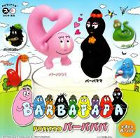 Kitan club PUTITTO Barbapapa Gashapon 6 set mini figure capsule toys Japan