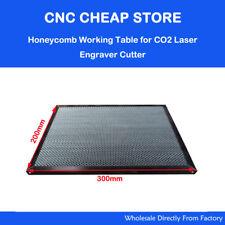 CO2 40W  Tube Laser Engraver Engraving Honeycomb Work Bed Table Platform 30x20cm