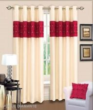 Dunelm Cotton Blend Modern Curtains & Pelmets