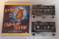 AUDIO BOOK - Frank And The Chamber Of Fear Read By Tony Robinson X2 Tapes Puffin