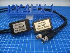 Custom RF & Demodulator Probe Set Heathkit IG5257/IG57 TV Post Marker Sweep Gen.