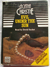 Evil Under the Sun-Agatha Christie -unabridged audiobook on 6 cassettes - Suchet
