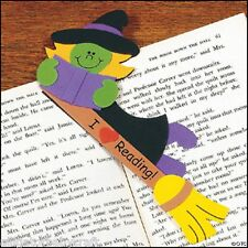 Halloween Witch Bookmark Craft Kit for Kids Boys Girls School Reading ABCraft