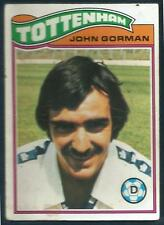 TOPPS 1978 FOOTBALLERS #231-TOTTENHAM HOTSPUR-CARLISLE UNITED-JOHN GORMAN