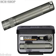 MAG-LITE Solitaire Mini Taschenlampe titan-grau mit Anhänger inkl. Etui