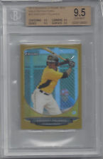 2013 Bowman Chrome Mini GOLD Refractor GREGORY POLANCO PIRATES 10/50 BGS 9.5 ALL