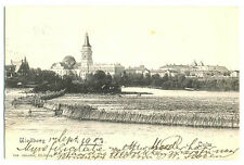 Russian Imp Town View Finnish Oulu Uleaborg Uleoborg PC 1903 Herman Andersson