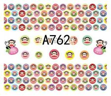 Nail Art Decals Transfers Stickers Paul Frank (A-762)