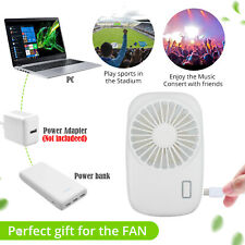 Best Portable Mini Hand Held USB Rechargeable Summer Air Conditioner Cooler Fan