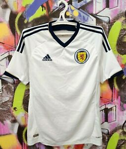 Scotland National Football Team 2011 2012 2013 Away Soccer Jersey Adidas Mens S