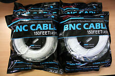 New 4 High Quality 150FT BNC Extension CCTV Cable for Samsung,Kguard,Swan,Lorex