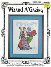Kappie WIZARD A GAZING Book 428 Fantasy Collection for Counted Cross Stitch