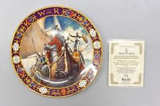 Royal Doulton Kings and Queens of the Realm Plate W/ COA VGC! #114