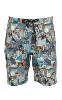 JETS Brand Retro Skyline Board Shorts Size S BNWT #TS57