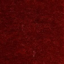 Luxurious Lustrous Mohair Velvet Upholstery Fabric American Beauty Red Bty