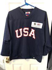 Team USA Hockey Youth Jersey Size Large