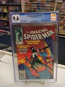 AMAZING SPIDER-MAN #252 (Newsstand Edition) CGC Graded 9.6! ~ White Pages