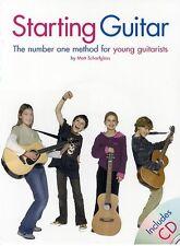 Starting Guitar (with CD); Scharfglass, Matt, Guitar teaching (pop) - AM945296