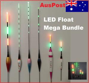 Electronic LED Fishing Float, Rechargeable USB, Garfish, Mackerel Night fishing