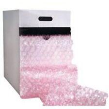 12 X 175 316 Pink Anti Static Portable Bubble Cushion Wrap 1 Box