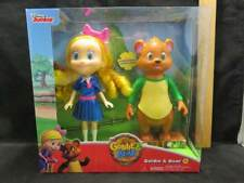Disney Junior Goldie & Bear Action Figures Poseable by Just Play New in Box 3+
