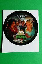 "EMILLY OWENS BIRTHDAY CAKE PARTY TV SMALL 1.5"" GETGLUE GET GLUE STICKER"