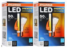 2 Pack - Sylvania 79659 Led Bulb Dimmable 7W R20 / Medium Base/ 3000K Warm White