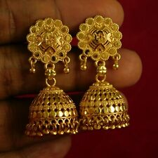 Bollywood Bridal Goldplated Earrings Indian Traditional Dangle Fashion Jewellery