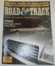 Road & Track Magazine Pinin Front Engine Flat-12 August 1980 123014R2
