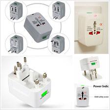 Universal 110-220V US EU AU UK World Travel Power Socket Plug Adapter Convertor