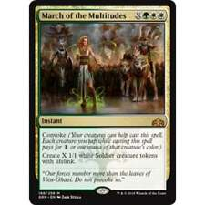 MTG GUILDS OF RAVNICA * March of the Multitudes