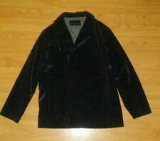 Kenneth Cole Reaction Black Men's Polyurethane Sz xL water proof rain coat euc