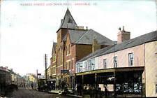 Abergele. Market Street & Town Hall # 177.