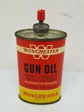 WINCHESTER LEAD TOP Gun Oil Tin Can 3 fl. oz. Empty