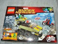 Lego Marvel Super Heroes Capitán América Vs. Hydra (76017) Totalmente Nuevo Y Sellado