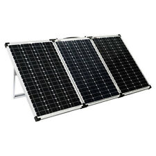 KICKASS 200W PORTABLE 12V Folding Solar Panel For Caravan Camping AGM Battery