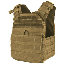 Condor Cyclone Soft Hard Armour Plate Carrier Tactical Patrol Vest Coyote Brown