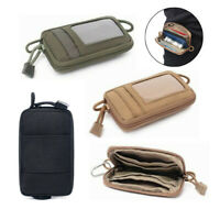 Tactical EDC Wallet 1000D Coin Card Bag Key Case Money Pocket Pouch Waist Pack