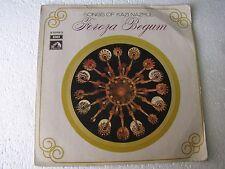 Songs of Kazi Nazrul Feroza Begum EASD 1394 Bengali LP Record India NM-1450