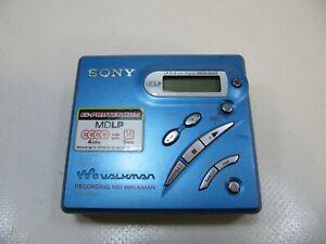 SONY MZ-R500 PORTABLE MINIDISC RECORDER MD WALKMAN TESTED WORKING