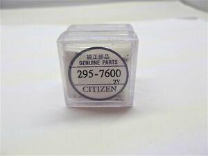 ACCUMULATORE 295-76 295-7600 MT516F 295.7  CITIZEN CAPACITOR condensatore