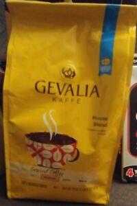 1 - GEVALIA House Blend Coffee, Medium Roast, Ground, 20 Ounce July 2021 (D7)