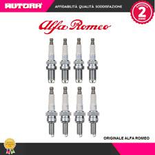 KIT51 8 Candele Alfa Romeo 145-146-147-156-166-Spider-Gt (MARCA ORIGINALE)