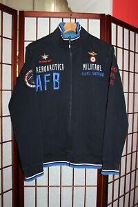 Aeronautica Militare R.A.M.I. Sheppard Air force base Men's blue jacket M .ALY
